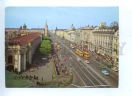 143242 Russia USSR Leningrad Nevsky Prospect Old Postcard - Russie