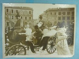 Photo De Presse (18 X 13) 1914 Carnaval De Nice Bataille De Confettis - Lieux