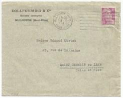 H275 - DMC = DOLLFUS MIEG & CIE - MULHOUSE - 1948 - PERFORE - PERFIN - - France