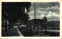 AMSTERDAM BIJ MAANLICHT DE WAAL - Amsterdam
