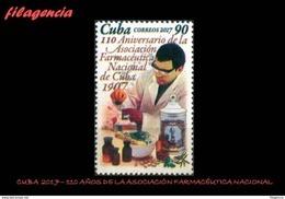 AMERICA. CUBA MINT. 2017 110 AÑOS DE LA ASOCIACIÓN FARMACÉUTICA CUBANA - Ongebruikt
