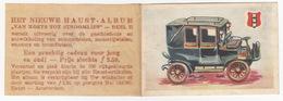 No. 1 - ATAX 1901-'12 TAXI, Electromotor - 'van Koets Tot Stroomlijn' - HAUST Beschuit, Ontbijtkoek, Toast - Amsterdam - Chromo
