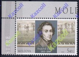 Moldova 2010. Birth Bicentenary Of Frederic Chopin. - Musik