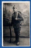 Carte Photo Soldat Allemand  1917 - War 1914-18