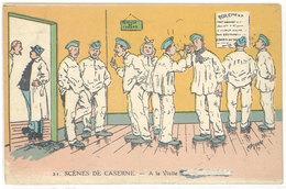 Cpa Signée Jarry - Scènes De Caserne - A La Visite ( Soldats, Docteur )   (S. 2846) - Autres Illustrateurs