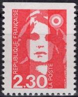 FRANCE 2629 ** MNH Type Marianne Du Bicentenaire Non Dentelé Imperf Haut (CV 2 €) - 1989-96 Marianne (Zweihunderjahrfeier)