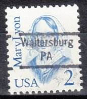 USA Precancel Vorausentwertung Preo, Locals Pennsylvania, Waltersburg 843 - Vorausentwertungen