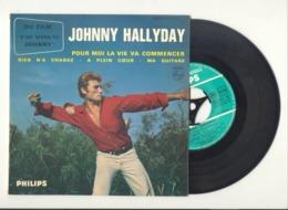 "Johnny HALLYDAY - 45 T - Titres Du Film "" D'où Viens-tu Johnny "" - 45 T - Maxi-Single"