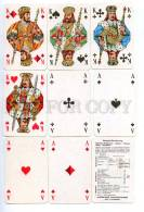 145087 Old German 32 PLAYING CARDS Deck COEUR SKAT DDR - Unclassified