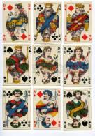 145093 Vintage German 36 PLAYING CARDS Deck BD - Unclassified