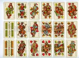 145105 Old Hungary 32 PLAYING CARDS Deck Jatekkartyagyar #33 - Unclassified