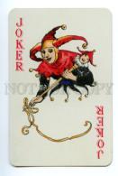 145123 Vintage PLAYING CARD JOKER In Red Cap - Unclassified