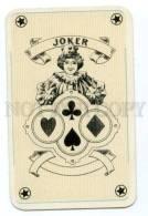 145124 Vintage PLAYING CARD JOKER Circus Girl - Playing Cards