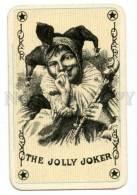 145125 Vintage PLAYING CARD JOKER The Jolly Joker - Playing Cards