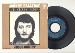 "Johnny HALLYDAY - 45 T -  "" Jésus Christ "" - 45 T - Maxi-Single"