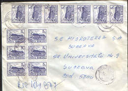 Romania - Registered  Letter Circulated In 1994 - 2/scans - 1948-.... Républiques