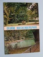 DEURNE BOECKENBERGPARK ( Spanjersberg ) Anno 19?? ( Zie Foto ) ! - Antwerpen
