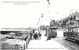 Sables D'Olonne. Les Tramways Sur Le Nouveau Remblai à L'entrée De La Foret Des Pins De La Rudelière. - Sables D'Olonne