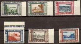 1933 Italia Italy Regno ZEPPELIN Di 6v. MNH** Aerea Air Mail - 1900-44 Vittorio Emanuele III