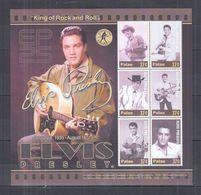 W13. Palau - MNH - Famous People - Elvis Presley - Célébrités