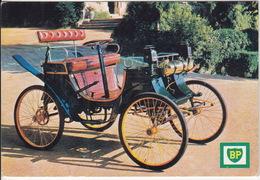 ROCHET FRERES 1898 Voiturette (moteur DE DION) Monocylindre  -  Musée De L'Auto - Rochetaillee-sur-Saone - 'BP' Service - Auto's