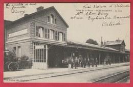Heer-Agimont - Vallée De La Meuse - La Gare ... édition Française  ( Voir Verso ) - Hastière