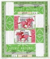 LOTERIE NATIONALE 1953 Prix De L Arc De Triumphe Courses De Chevaux - 2scans - Lottery Tickets