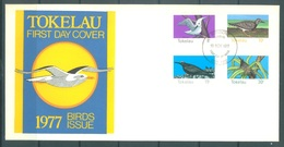 TOKELAU - 16.11.1977 - FDC -  BIRDS - Mi 50-53 Yv 57-60 - Lot 16757 - Tokelau