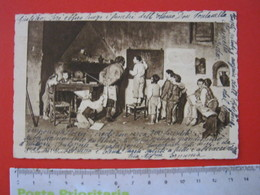CA6 - ITALIA ITALY CARD - BIELLA 1935 SCUOLA DEL VILLAGGIO LAVAGNA CARTINA ASINO CAMINETTO BAMBINI FANCIULLI VG. TORINO - Scuole