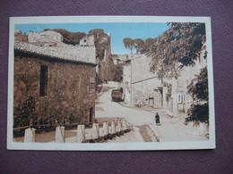 CPA 30 ARAMON Montée Du Chateau SEPIA Canton BEAUCAIRE - Aramon
