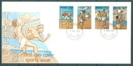 TOKELAU - 4.11.1981 - FDC -  SPORT ISSUE - Mi 70-73 Yv 77-80 - Lot 16762 - Tokelau