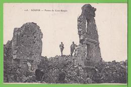 SOUPIR / FERME DE COUR SOUPIR / LE CHEMIN DES DAMES.... Carte écrite Le 27 Janvier 1918 ( 100 Ans ) - France