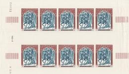 742 CROIX ROUGE - Feuille De 10 - Unused Stamps