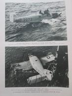 1931 Les Aviateurs  RODY  JOHANNSEN ET VEIGA   Sauvetage  équipage Transatlantique Dérive - Vieux Papiers