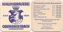 #D204-242 Viltje Schlossbrauerei Obergriesbach - Sous-bocks