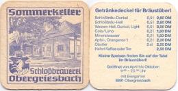 #D204-243 Viltje Schlossbrauerei Obergriesbach - Sous-bocks