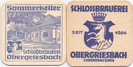#D204-244 Viltje Schlossbrauerei Obergriesbach - Sous-bocks