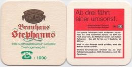 #D204-249 Viltje Brauhaus Stephanus - Sous-bocks