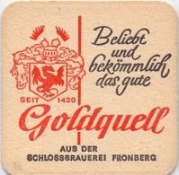 #D204-255 Viltje Schlossbrauerei Fronberg - Sous-bocks
