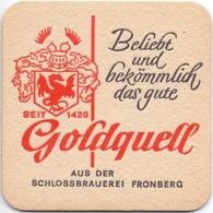 #D204-256 Viltje Schlossbrauerei Fronberg - Sous-bocks