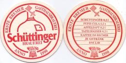 #D204-262 Viltje Schüttinger Brauerei - Sous-bocks