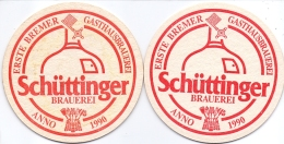 #D204-265 Viltje Schüttinger Brauerei - Sous-bocks