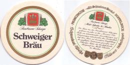 #D204-288 Viltje Schweiger Bräu - Sous-bocks