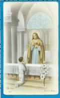 Communion    Van Camp    Wilsele - Putkapel - Images Religieuses