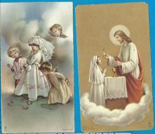 Communion    Lontie   Wilsele - Putkapel - Images Religieuses