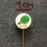 Badge (Pin) ZN006922 - Table Tennis (Ping Pong) Yugoslavia Slovenia Federation / Association / Union NTZS - Table Tennis