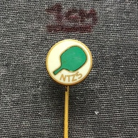 Badge (Pin) ZN006923 - Table Tennis (Ping Pong) Yugoslavia Slovenia Federation / Association / Union NTZS #806 - Table Tennis