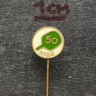 Badge (Pin) ZN006924 - Table Tennis (Ping Pong) Yugoslavia Slovenia Federation / Association / Union NTZS - Table Tennis