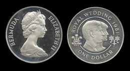 1 $ 1981 . MARIAGE ROYALE . - Bermuda