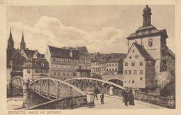 AK Bamberg, Partie Mit Rathaus - Bamberg